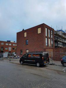 Realisatie striphekwerken nieuwbouw in IJburg