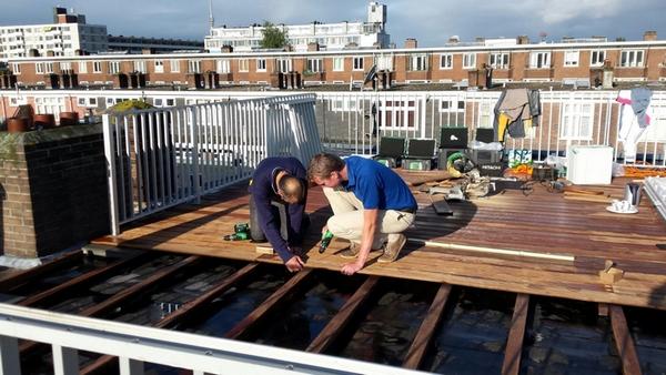 dakterras en balkonhek op maat